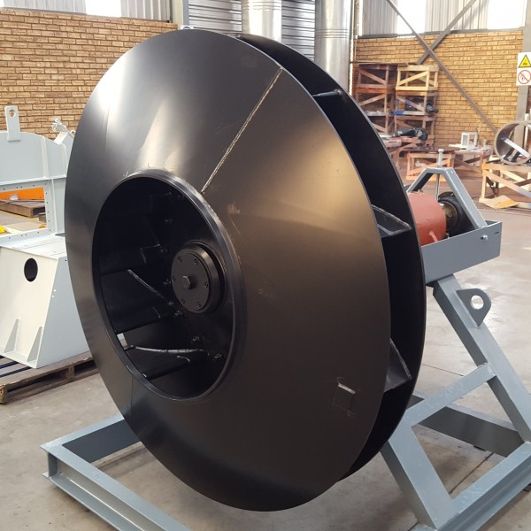 Airfoil centrifugal fan 1, dryers, fume control, forced draft